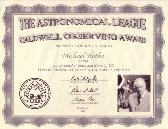 Picture of Caldwell Silver Certificate
